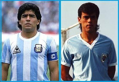Maradona y Fonseca entre los goleadores iniciales de las últimas Copa América