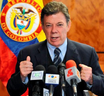 Santos critica los ataques de las FARC