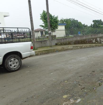Calle del barrio Libertad se encuentran en mal estado, según moradores