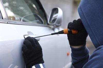 Delincuentes robaron cerca de 1.000 dólares en partes de un vehículo
