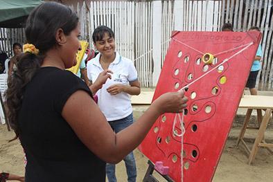 200 niños participan en evento por Día del Juego