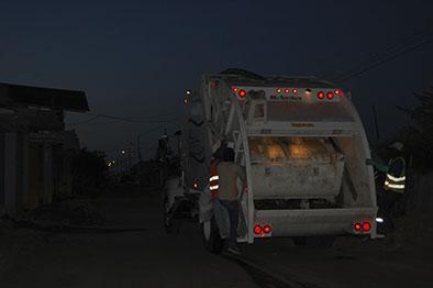 Buscan mejorar la recolección de basura