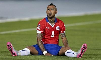 ¡TRISTE DEBUT! Chile venció 2-0 a Ecuador con goles de Vidal y Vargas