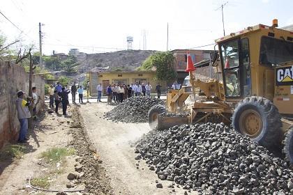 Calles serán reparadas con recursos del Banco Mundial