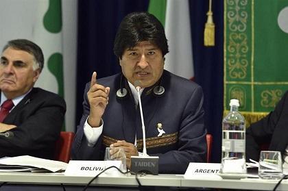 Evo Morales alerta de que Europa está siendo 'desplazada o sustituida por Asia'