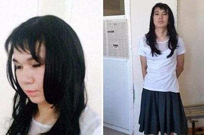 Se disfrazó de mujer para hacer el examen de su novia
