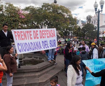 Manifestantes llegan a acuerdo con Rodas