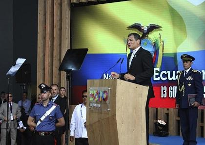 Correa admite que la situación en Ecuador, por protesta opositora, es 'grave'