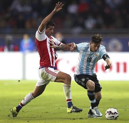 ¡Sorprendente empate! Argentina y Paraguay igualan 2-2