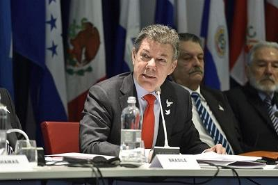 Santos asegura que las FARC son responsables de un 'ecocidio' en Colombia