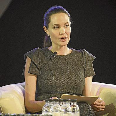 Angelina quiere que se acabe la violencia sexual