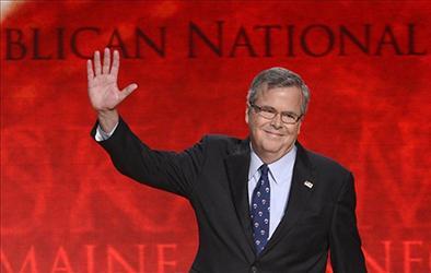 Bush prepara campaña en web
