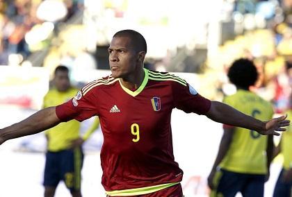 Venezuela sorprende a Colombia en territorio chileno (1-0)