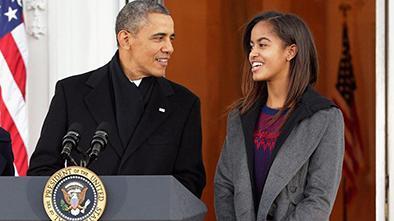 500 vacas por mano de la hija de Obama