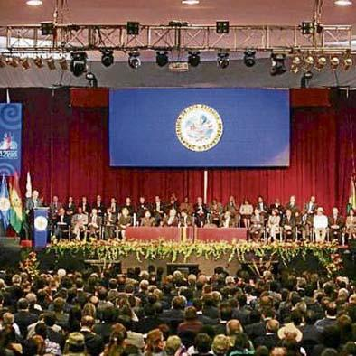 Asamblea debatirá renovación de OEA