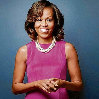 Michelle Obama inicia gira con fines altruistas