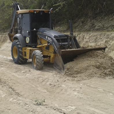 Puerto Cabuyal espera rehabilitación de una vía de dos kilómetros
