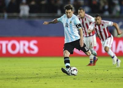 Messi declinó el premio al mejor jugador del partido Argentina-Paraguay