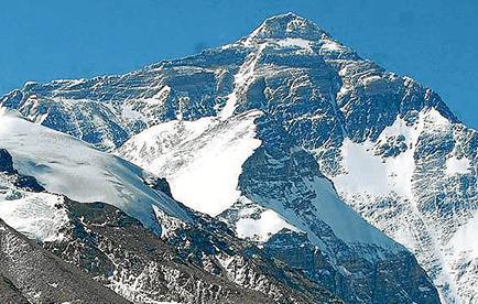El monte Everest se desplazó 40 centímetros en los últimos 10 años