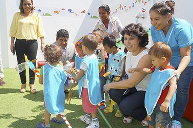 Inauguran centro infantil Susurros del mar