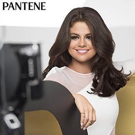 Selena es la nueva chica Pantene