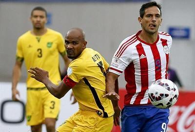 Un gol de carambola dio la victoria a Paraguay en un partido triste ante Jamaica