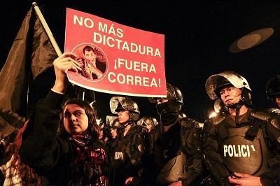 Cuba expresa apoyo a Correa y rechaza 'injerencia' y violencia en Ecuador