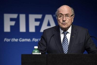 Blatter, orgulloso de que la FIFA siga funcionando en tiempos de crisis