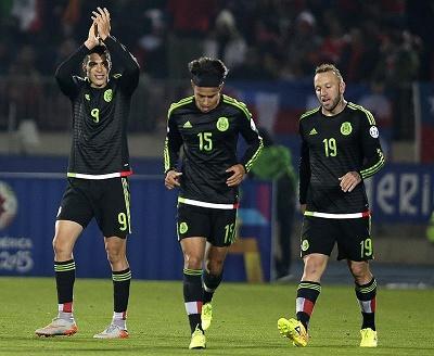 México se entrena a puerta cerrada para preparar el partido ante Ecuador