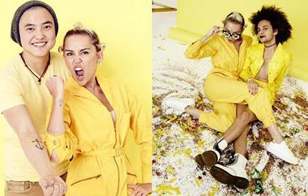 Miley Cyrus a favor de la comunidad transgénero