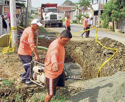 Roturas dejaron sin agua a la ciudadela Municipal