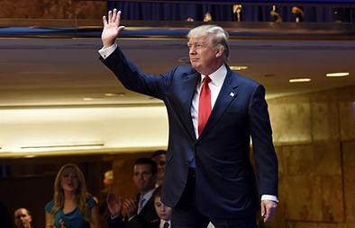 Trump busca la Casa Blanca