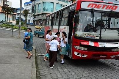 Alcalde de Santo Domingo y transportistas llegan a un acuerdo