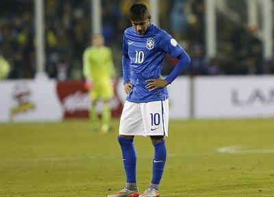 Neymar se perderá el partido con Venezuela