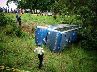 Accidentes de tránsito: Santo Domingo en el noveno con más casos
