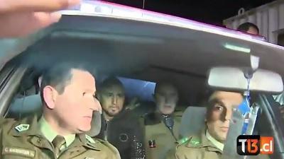 Arturo Vidal a un policía: 'Espósame, pero te vas a ca*ar a todo Chile'