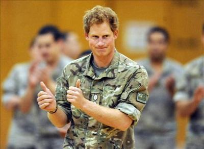 El príncipe Harry cumple su última jornada como militar