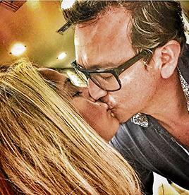 David Reinoso vive una nueva historia de amor junto a una contadora