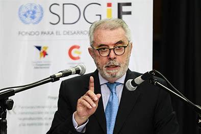 Plan financiado por España mejorará alimentación