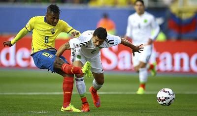 Ecuador espera entrar como tercero y México quedó eliminado