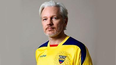 Assange cumple tres años en la embajada de Ecuador en Londres