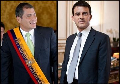 Primer ministro francés se reunirá con Correa y tratará agenda de cooperación