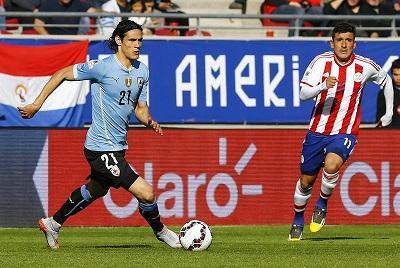 Uruguay empata 1-1 con Paraguay y clasifican a cuartos de final