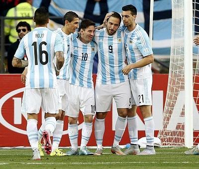 Argentina, Uruguay y Paraguay clasifican a los cuartos de final