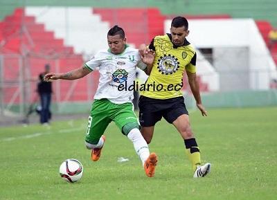 Liga de Portoviejo pierde 1-0 ante Fuerza Amarilla en Machala