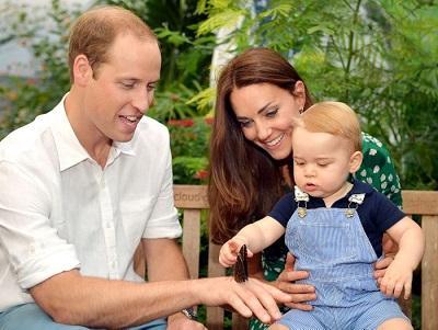 El príncipe Guillermo cumple 33 años rodeado de su familia
