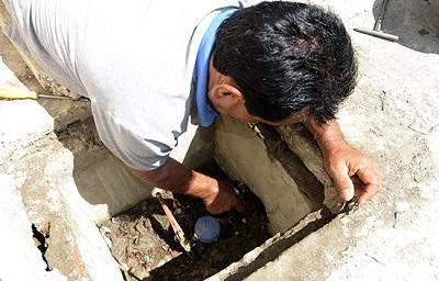 Cortes masivos de agua potable a usuarios que deben desde un mes
