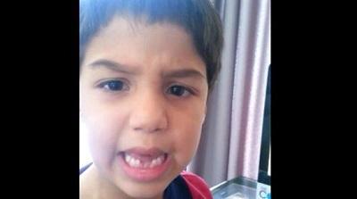 Niño regaña a Arturo Vidal por su accidente de tránsito: 'Dios está muy enojado'