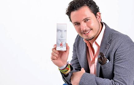 Fausto Miño lanza primera fragancia para hombres