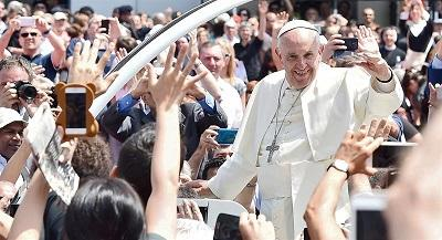 El papa señala el origen salesiano del San Lorenzo, 'el mejor equipo de Argentina'